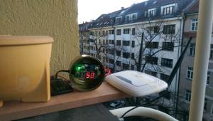Router auf dem Balkon | CC BY 3.0 Michael Renner