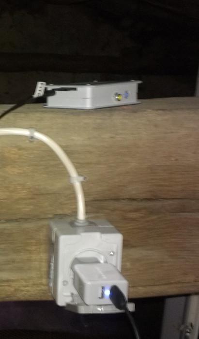 Raspberry Pi unter dem Dach | CC BY 3.0 Michael Renner